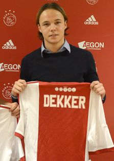 2013-12-16 Contract Abdel Nouri Gino Dekker Arena Amsterdam